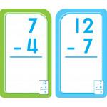School Zone - Subtraction 0-12 Flash Cards