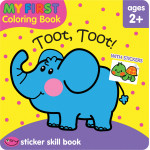 School Zone -Toot Toot My First Coloring Book