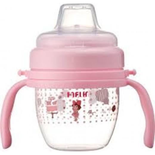Farlin - Gulu Spout Learner 120ML - Pink