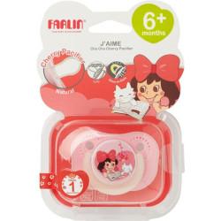 Farlin - Gulu Chu Pacifier 6+ - Red