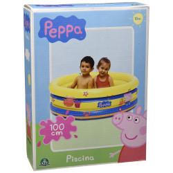 Giochi Preziosi - Peppa Pig Pool 3 Tubes - 100x50 cm