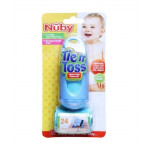Nuby Tie N Toss Diaper Bag Dispenser with 24 Disposable Bags and Token