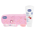 Chicco Oral Set Pink Without Fluoride