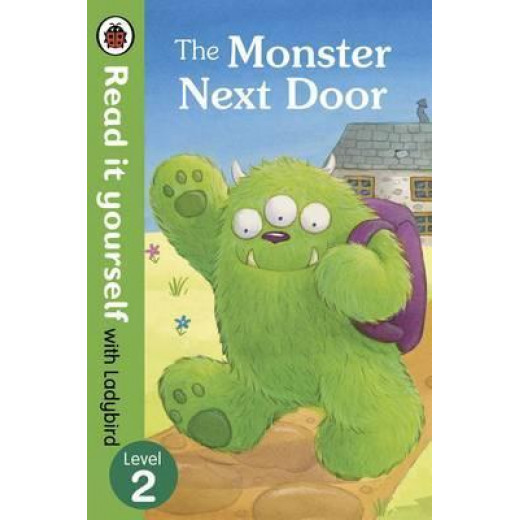 Ladybird : Read it Yourself L2 The Monster Next Door