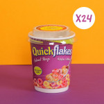 Quickflakes Colored Rings -  Box of 24 Cup