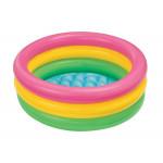Intex - SunSet Glow Baby Pool 61cmx22cm