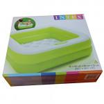 Intex - Inflatable Square Pool,Assortment