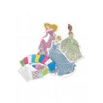 Disney Princess Sticky Mosaics Tiana, Aurora & Cinderella