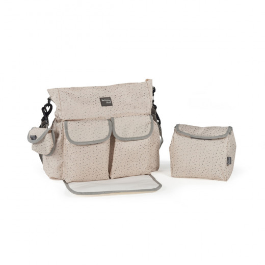 Pasito a Pasito Walking Mum Nordic Baby Beige Changing Bag with Mat