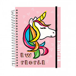 YM Sketch - Any Year Planner - Unicorn - Wire