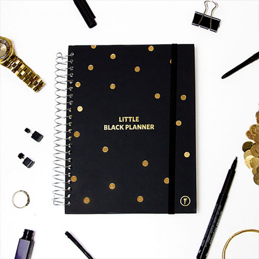 YM Sketch - Any Year Planner - Black - Wire