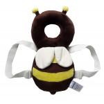 JJ Ovce Baby Head Protector, Brown Bee