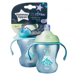 Tommee Tippee Easy Drink Straw Cup 230ml, Blue