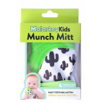 Munch Mitt Teething Mitten, Green Cactus