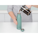 Sistema Stainless Steel Bottle 500ml - Charcoal