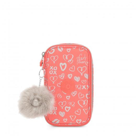 Kipling 50 Pens Hearty Pink Met