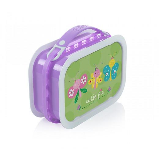 Yubo Deluxe Lunchbox-Color: Lavendar