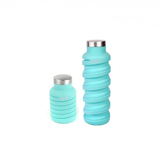 زجاجة مياه قابلة للطي من كيو ، نعناع ضبابي ، 590 مل