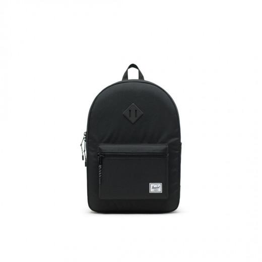 حقيبة صغيرة إكس إل اللون: أسود / أسود فرك من هيرشل هيريتيج يوث