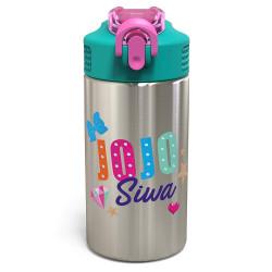 Zak JoJo Siwa 15.5oz Stainless Steel Water Bottle Green/Pink