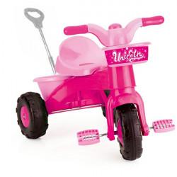 Dolu Unicorn My First Trike, with Parent Handle