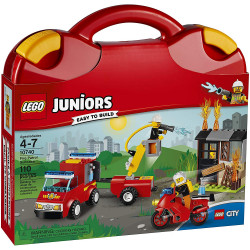 LEGO Juniors: Fire Patrol Suitcase