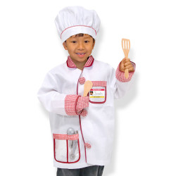 Melissa & Doug Chef Role Play Costume Set, 3-6 years