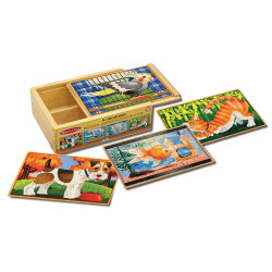 Melissa and Doug Pets Jigsaw Puzzles in a Box