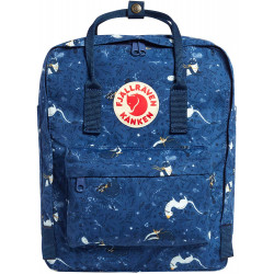 Fjallraven - Kanken Art Special Edition Backpack for Everyday, Blue Fable