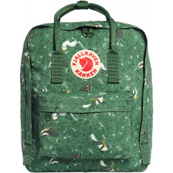 Fjallraven - Kanken Art Special Edition Backpack for Everyday, Green Fable