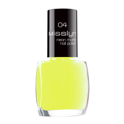 Misslyn Neon Matte Nail Polish No. 04 Lightning Stroke