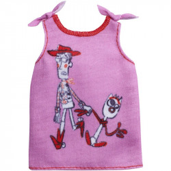 Barbie Fashions Toy Story 4 Pink Top