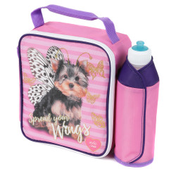 Arctic Zone Kids' Lunch Bag & Water Bottle Set, Spread your Wings