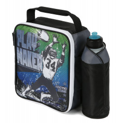 Arctic Zone Kids' Lunch Bag & Water Bottle Set, Play Maker