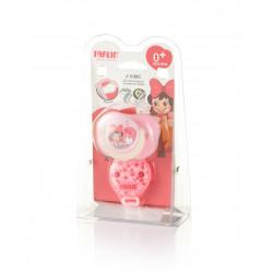 Farlin - Chu Chu Pacifier 2 pieces 0+ Pink