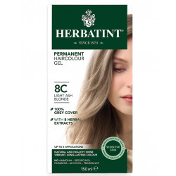 Herbatint Permanent Hair Colour 8C Light Ash Blonde, 150ml