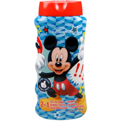 Disney Mickey Mouse 2 in 1 Shampoo and Bubble Bath, 475 ml
