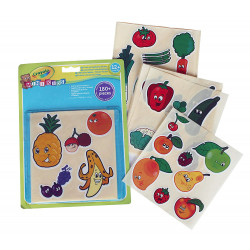 Crayola Mini Kids Fruits and Vegetables Stickers 1*24