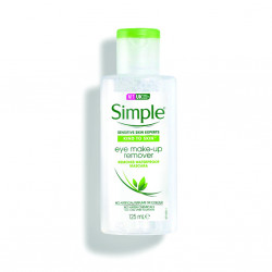 Simple Kind to Eyes Eye Makeup Remover, Eye Makeup Remover, 125 ml