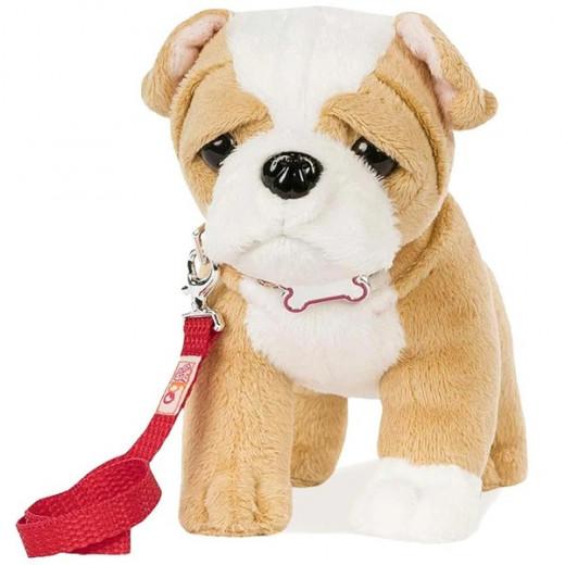 Our Generation Plush Pup - 6 inch (Bulldog)