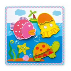 Viga Chunky Sea Animals Puzzle