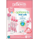 Dr.Brown's Options+ Narrow-Neck Bottle Special Pink Edition Gift Set