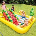 مركز اللعب الخارجي على شكل الفواكه مع مسبح, 2.44 متر* 1.91متر* 91سم
