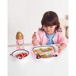 مجموعة أطباق ووعاء للأطفال خدمة ذكية من سكيب هوب, فهد