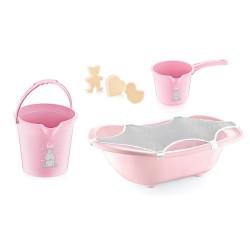 Baby Jem Baby Bath Set 5 pieces, Pink