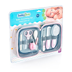 Baby Jem Baby Grooming Set 9 pieces, Pink