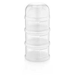 Babyjem Food Storage 3 Containers, White