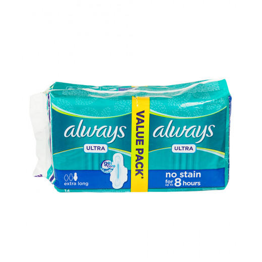 Always - Ultra Thin 14 Pads up to 8 Hours