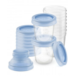 Philips Avent Breast milk storage cups, 10 Cups