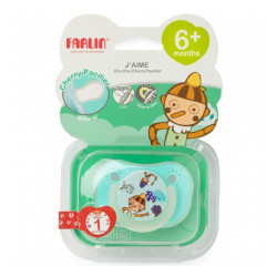 Farlin - Gulu Chu Pacifier 6+ - Green